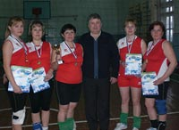 Женское Вечернее первенство по волейболу
