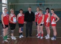 Первенство посёлка Курагино по волейболу