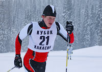В селе Таштып прошли соревнования по лыжным гонкам